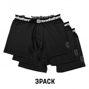 Go to the product Boxer shorts Horsefeathers Dynasty 3 Pack black 2019/2020