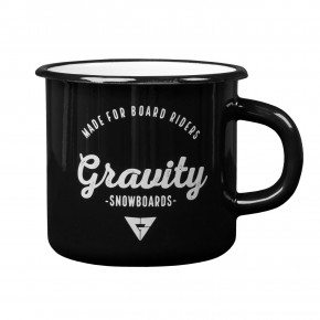 Go to the product Cup Gravity Enamel Cup black