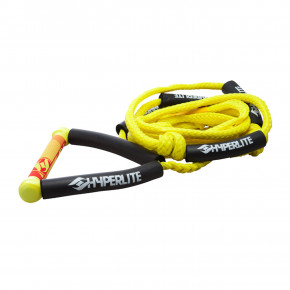Přejít na produkt Hyperlite Surf Rope W/handle yellow 2018
