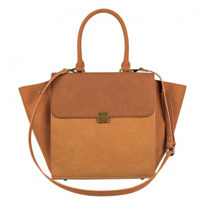 Go to the product Shoulder Bag Roxy Tan Lines camel 2018