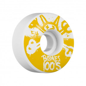 Go to the product Wheels Bones OGF V4 100's white 2018