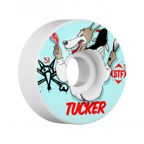 Go to the product Wheels Bones STF Tucker Wolfpack white 2018