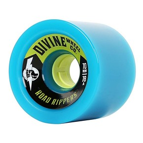 Go to the product Wheels Divine Road Rippers 70mm/78A cyan 2017
