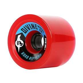 Go to the product Wheels Divine Road Rippers 70mm/78A red 2017