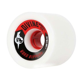 Go to the product Wheels Divine Road Rippers 70mm/78A white 2017