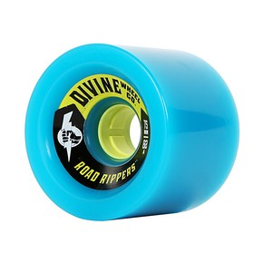Go to the product Wheels Divine Road Rippers 75Mm/82A cyan 2017