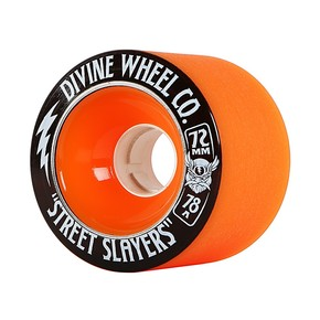 Go to the product Wheels Divine Street Slayers orange 2017