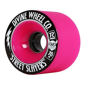 Go to the product Wheels Divine Street Slayers hot pink 2017