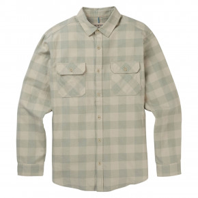 Go to the product Shirt Burton Brighton Flannel pelican heather buffalo 2019