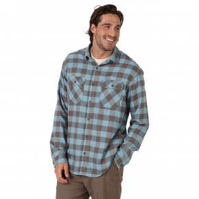 Go to the product Shirt Burton Brighton Flannel winter sky allen plaid 2018