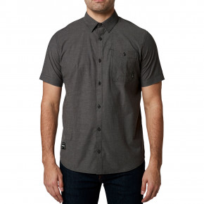 Go to the product Shirt Fox Baja Ss Woven heather black 2020