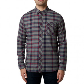 Go to the product Shirt Fox Boedi Ls Flannel petrol 2020