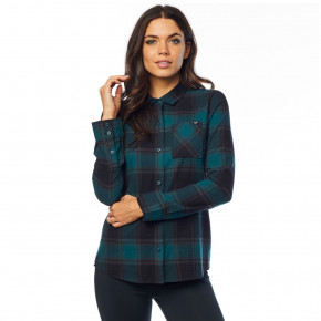 Go to the product Shirt Fox Kick It LS Flannel jade 2018
