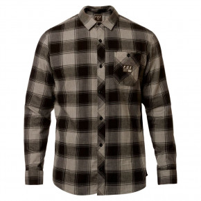 Go to the product Shirt Fox Longview Ltwt Flannel heather graphite 2019