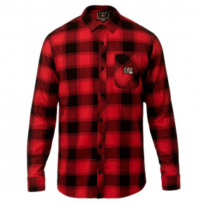 Go to the product Shirt Fox Longview Ltwt Flannel rio red 2019