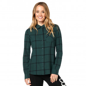 Go to the product Shirt Fox Roost Flannel emerald 2019