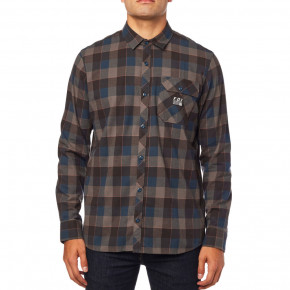 Go to the product Shirt Fox Voyd Flannel navy 2018