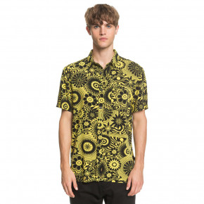 Go to the product Shirt Quiksilver Fluid Geo Ss dandelion expanded mind 2020