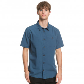 Go to the product Shirt Quiksilver Taxer Wash Ss majolica blue 2020
