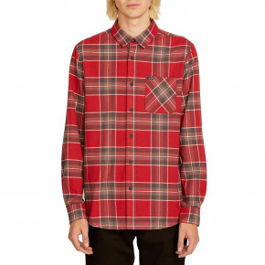 Go to the product Shirt Volcom Caden Plaid Ls burgundy 2019