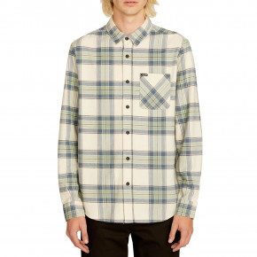 Go to the product Shirt Volcom Caden Plaid Ls off white 2019