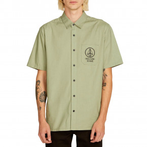 Go to the product Shirt Volcom Crowd Control Ss dusty green 2019