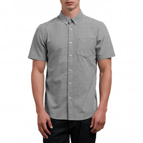Go to the product Shirt Volcom Everett Oxford Ss black 2019