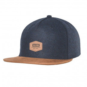 Go to the product Cap Globe Woodford Snapback indigo 2018