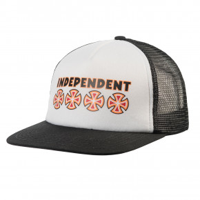 Go to the product Cap Independent Bc Primary Mesh Back black/white 2019