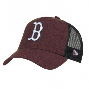 Przejść do produktu Czapka z daszkiem New Era Boston Red Sox Seasonal Trckr heather maroon/optic white 2018