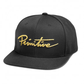 Go to the product Cap Primitive Nuevo Script Snapback black/gold 2018