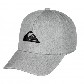 Go to the product Cap Quiksilver Decades medium grey heather 2018