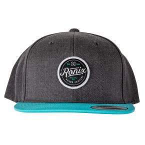 Go to the product Cap Ronix Mariano 6 Panel grey/aqua 2019