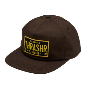 Go to the product Cap Thrasher DMV Snapback brown 2020