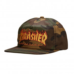 Go to the product Cap Thrasher Flame Snapback camo 2019