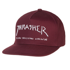 Go to the product Cap Thrasher New Religion maroon 2017