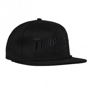 Go to the product Cap Thrasher Rope Snapback black/black 2019
