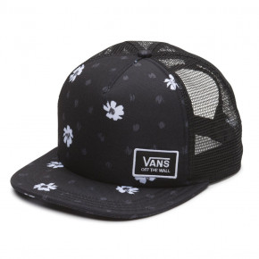 Go to the product Cap Vans Beach Bound Trucker black abstract daisy 2018