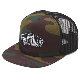 Go to the product Cap Vans Classic Patch Trucker classic camo 2017