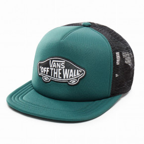 Go to the product Cap Vans Classic Patch Trucker darkest spruce 2018