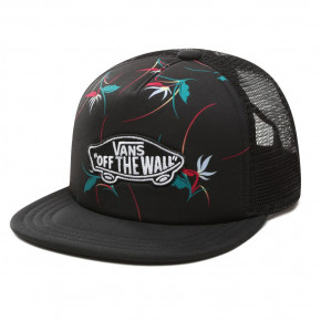 Go to the product Cap Vans Classic Patch Trucker Plus Boys black open shade floral 2019