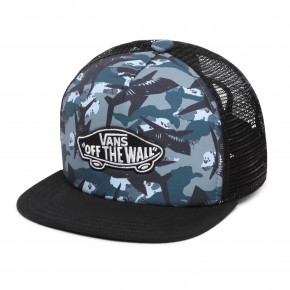 Go to the product Cap Vans Classic Patch Trucker Plus Boys shark camo 2020
