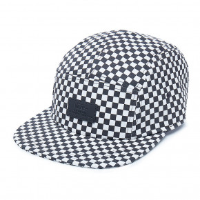 Go to the product Cap Vans Davis 5 Panel black/white check 2018