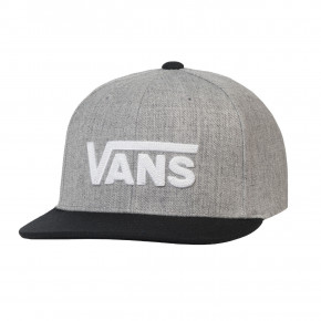 Go to the product Cap Vans Drop V II Snapback Boys heather grey 2020