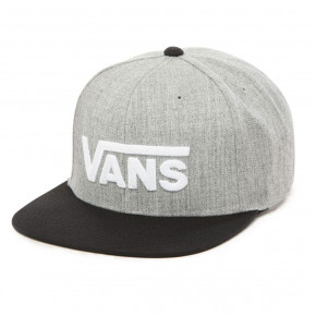 Go to the product Cap Vans Drop V II Snapback heather grey/black 2019