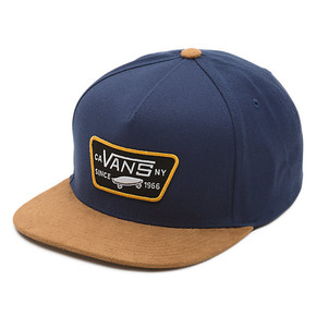 Prejsť na produkt Šiltovka Vans Full Patch Snapback Boys dress blues/khaki 2017