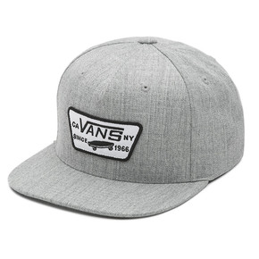 Go to the product Cap Vans Full Patch Snapback heather grey 2019