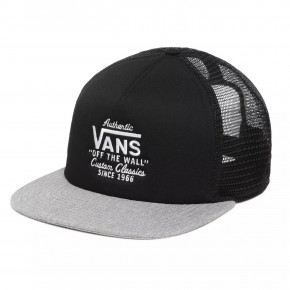 Go to the product Cap Vans Galer Trucker black/heather grey 2020