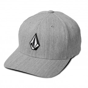 Go to the product Cap Volcom Full Stone Heather Xfit grey vintage 2018