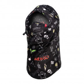 Go to the product Balaclava Airhole Junior Airhood Milk Fleece doodles 2020/2021
